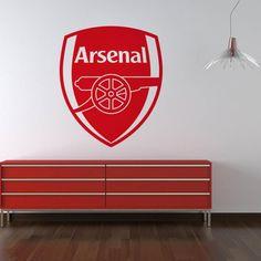 Arsenal Football Club Wall Art Logo Sticker Sport Mural Crest