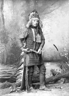Red Shirt, Oglala Sioux, by Elliott and Fry (London), when he was with a wild west show.