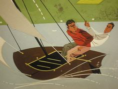 Charley harper e ca and time magazine on pinterest for Charley s fishing