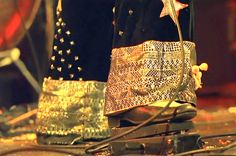 Jimmy Page's Star Spangled Pants. Hey, and nice shoes, man.