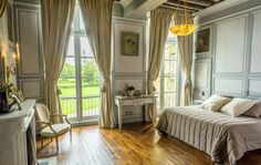 Château de Prye from the century has 2 guest rooms and 2 suite in la Fermeté close to Nevers.