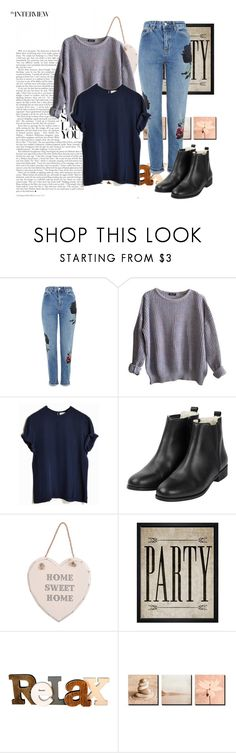 """""""Sem título #684"""" by iviny-167 on Polyvore featuring moda, Topshop, American Apparel e Hatcher & Ethan"""