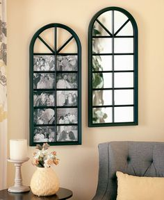 "30"" Arched Mirrors or Photo Collages 