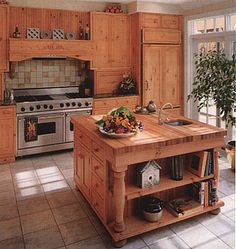 Image detail for -... Countertops, Kitchen Island Tops, Butcher Blocks, Cherry Countertops