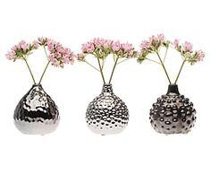 Set di 3 vasetti in ceramica Gourd