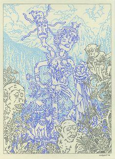 """eatsleepdraw:  """" Modest Muffler Venus By: Eric Nyquist www.ericnyquist.com  """""""