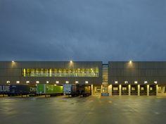 [C.F. Møller Architects | Haderslev, Denmark | Bestseller Logistics Centre North] industrial architecture