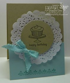 Stampin' Up! Easy Events by Debbie Henderson, Debbie's Designs. - love the layout!