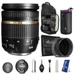 Tamron Auto Focus 17-50mm f/2.8 SP XR DI II VC Zoom Lens for Nikon Digital SLR Cameras + BACKPACK & FREE ACCESSORIES