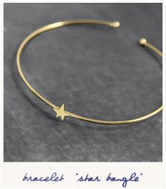 * Star bangle http://bijouxcreateurenligne.fr/product-category/bracelet-fantaisie/