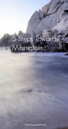 5 Steps Towards Minimalism - I thought this was going to be a tired repeat of everything I've read before, but thankfully it wasn't! I loved reading this!