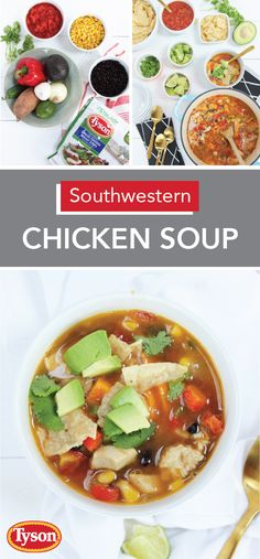 When it comes to fall meal ideas, this recipe for Southwestern Chicken Soup may just be your family's new favorite! Tyson Refrigerated Fully Cooked Chicken Breast Strips, peppers, sweet potatoes, black beans, and corn all come together to create this flavorful stew in just around 30 minutes. Pick up all the ingredients you need at Kroger—including a variety of topping options like tortilla strips and cilantro—serve and enjoy!