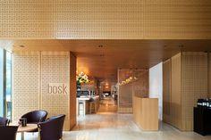 bosk Restaurant + Shangri-La Hotel Lobby, Toronto, office of mcfarlane biggar architects + designers