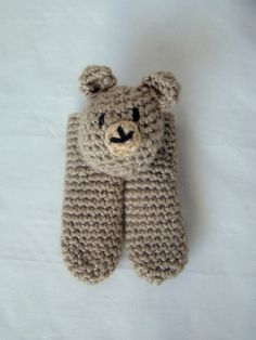Two Finger Bear Puppet by DaydreamDestination on Etsy, £6.00