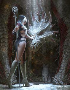 (2) Die Schönsten Drachen Fantasy Bilder. - Bilder Land