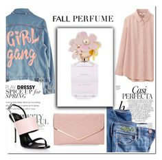 """""""Fall Perfume"""" by luke-hemmings5sos ❤ liked on Polyvore featuring beauty, Uniqlo, High Heels Suicide, Whiteley, Madewell, Marc Jacobs, Giuseppe Zanotti, Sasha, howtowearit and GlamUp"""