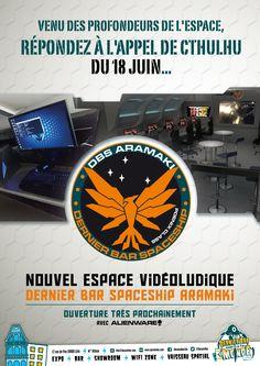 Cthulhu, Expo, Bar, Spacecraft