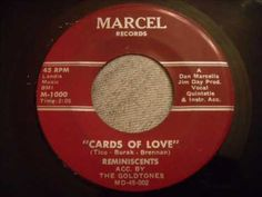 Reminiscents - Cards Of Love - Rare Uptempo Doo Wop - Remake of Tico and...