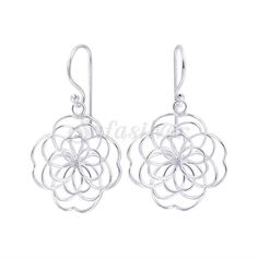 Safasilver - 925 Silver Jewelry - Silver Hook Earrings Safasilver has varieties of Hook Earrings are so much Stylish and Classic in Look. The Hook Earrings are in Lotus design & another one is Flower shape which is blended as designs are so much attractive. Thailand's one of the best Wholesaler & Manufacturer for more www.safasilver.com .