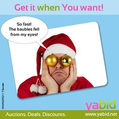 Don't wanna #wait anymore? Get your #deal within a #second at #Yabid! Get it when YOU want it! www.yabid.net