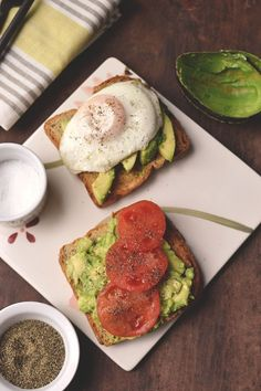 Avocado Breakfast Sandwich by Cook's Hideout