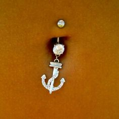 Anchor Belly Button Ring  I just bought this at http://www.bodycandy.com/cgi-bin/item/31609