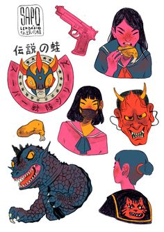 Stuffs on Behance Illustration Tumblr, Character Illustration, Character Design References, Character Art, Kawaii, Aesthetic Art, Art Sketchbook, Drawing Reference, Cute Art