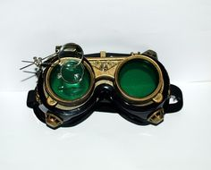steampunk goggles, DIY with welding goggles