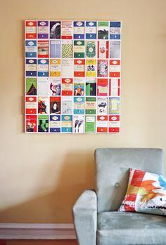 DIY Postcard Wall Art What About Orange via