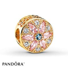 Jared - PANDORA Charm Opulent Floral 14K Yellow Gold
