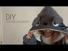 DIY: Totoro Kigurumi/Onesie with Gio - YouTube