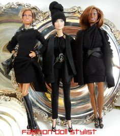 Fashion Doll Stylist: Dolly Donna K inspired tutorial for 3 looks!.