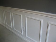 Easy Wainscoting. For my trailer re-do.