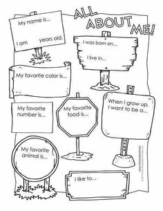 All About Me Preschool Worksheets. √ All About Me Preschool Worksheets. 28 [ All About Me Free Printable Worksheets ] All About Me Printable, All About Me Worksheet, All About Me Activities, English Activities, All About Me Preschool Theme, All About Me Crafts, All About Me Book, First Day Of School Activities, Fall Preschool