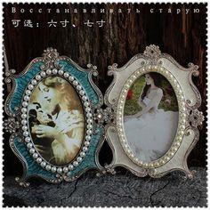 Jahrgang Barocken Dekoration Mode Metall Prinzessin Foto Frame Bild Rahmen Foto Frame