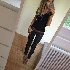 Céline @lesfutiles Black✔️ #ootd #bl...Instagram photo | Websta (Webstagram)