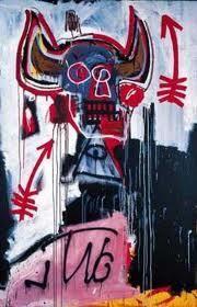 Sans Titre 1982 BASQUIAT Jean-Michel Dimensions : 122 x 183 cm Acrylique, peinture en spray/toile Datée au verso Signée