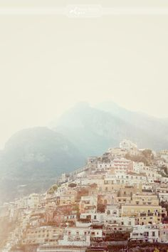 I love how organic the buildings look here, like they grew out of the hills.  Amalfi Coast