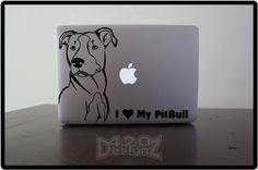 I love my Pitbull decal.