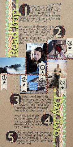 Another unbelievable layout from @kinsey wilson .Not sure who Kinsey Wilson is but this a cute layout!