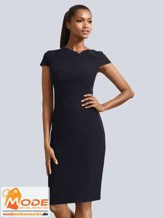 Etuikleider wurden durch Stilikonen wie Audrey Hepburn Jacky Kennedy populär Ein solches Kleid ist figurnah ge... #BAUR #AlbaModa #Rabatt #25 #Marke #Alba #Moda #Farbe #blau #schwarz #Material #Elasthan #Polyester #Viskose #Onlineshop #BAUR #Damen #Bekleidung #Damenmode #Kleider #Sale #Shirtkleider | sportliche Outfits, Sport Outfit | #mode #modeonlinemarkt #mode_online #girlsfashion #womensfashion Audrey Hepburn, Alba Moda, Sport Outfit, Mode Online, High Neck Dress, Dresses For Work, Jacky, Material, Fashion