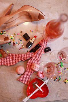 beautiful messy aftermath shot