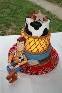 Easy Toy Story Cakes | The Simple Cake: Woody (Toy Story) Cake