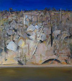 On the banks of Shoalhaven - Arthur boyd Australian Painting, Australian Artists, Landscape Art, Landscape Paintings, Beautiful Landscape Pictures, Arthur Boyd, New Zealand Art, Watercolor Sunflower, Western Art