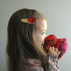 bliss blog - wee wednesday with lindsay of darling clementine: I heartyou.-Hello Shiso Hair Clips