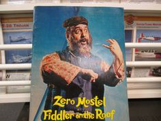 Historical Program and History of Zero Mostel in Fiddler on the Roof