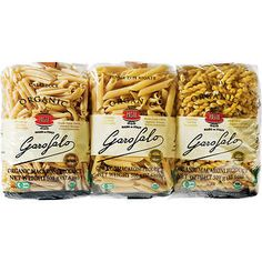 Garofalo Organic Pasta, Variety Pack, oz, USDA Organic Made from Durum Wheat Semolina 2 - Casarecce 2 - Penne Ziti Rigate 2 - Gemelli Organic Pasta, Kitchen Appliance Packages, Food Wishes, Grill Accessories, Snack Recipes, Snacks, Penne, Energy Drinks, Chips