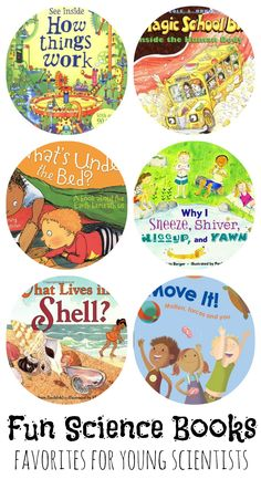 12 Fun Kids Science Books