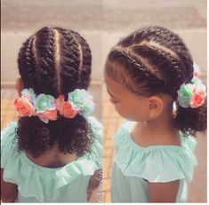 Ideas Baby Girl Hairstyles Afro For 2019 Natural Hairstyles For Kids, Kids Braided Hairstyles, Black Girls Hairstyles, Cute Hairstyles, Toddler Hairstyles, Teenage Hairstyles, Stylish Hairstyles, Ponytail Hairstyles, Short Haircuts
