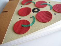 Pizza Notebook por palasxpandiras en Etsy